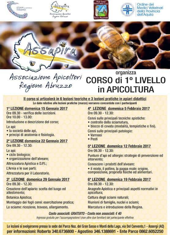 corso base apicoltura Assergi 2017