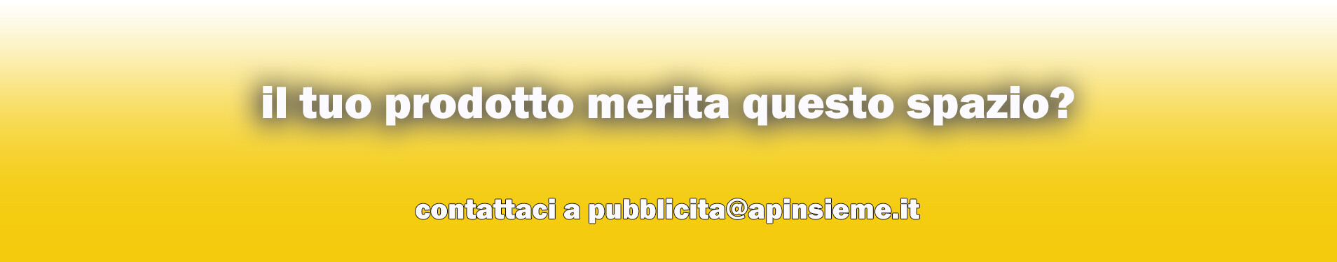 contatta pubblicita @ apinsieme.it